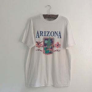 Vintage Arizona Cactus Desert Graphic T-shirt
